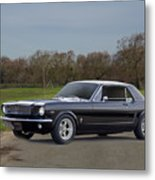 1966 Ford Mustang Coupe I Metal Print