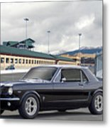 1966 Ford Mustang Coupe II Metal Print