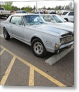 1968 Mercury Cougar Xr7 Metal Print