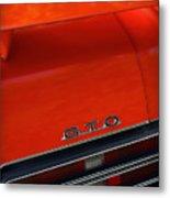 1969 Pontiac Gto The Judge Metal Print