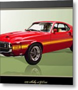 1969 Shelby V8 Gt350  Metal Print