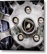 1997 Lamborghini Diablo Roadster  Wheel Emblem -1303ac Metal Print