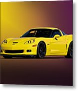 2008 Corvette Z06 Coupe Metal Print