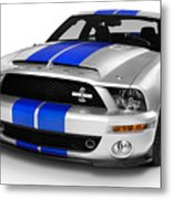 2008 Shelby Ford Gt500kr Metal Print