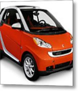 2008 Smart Fortwo City Car Metal Print