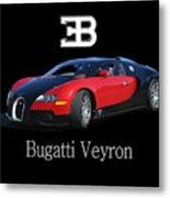2010 Bugatti Veyron Metal Print