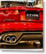 2016 Jaguar F-type Metal Print