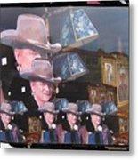 21 Dukes John Wayne Cardboard Cutout Collage Tombstone Arizona 2004-2009 Metal Print