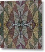21970. Mosaic Rhythm Of Roman Baths. Metal Print