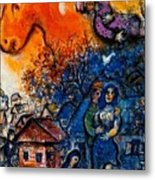 4dpictfdrew3 Marc Chagall Metal Print