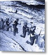500-feet Level Sulphate Stope Tombstone Consolidated Mine 1904-2013 Metal Print