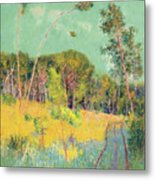 A Clearing In The Forest Metal Print