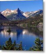 A Glacier Lake Metal Print