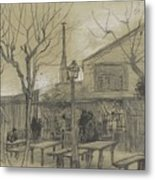 A Guinguette Paris, February - March 1887 Vincent Van Gogh 1853 - 1890 Metal Print