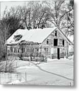 A Hard Life Winter 2 Metal Print