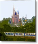 A Land Of Magic Metal Print