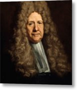 A Magistrate Painting Painted Originally Metal Print