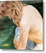 A Moment of shyness Metal Print