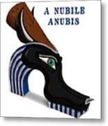 A Nubile Anubis Metal Print