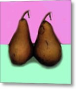 A Pair Of Pears Metal Print
