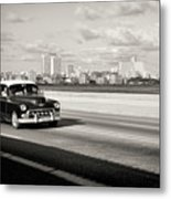 A Sunday Drive Metal Print