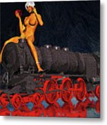 A Surrealist Lady Chatterley Metal Print