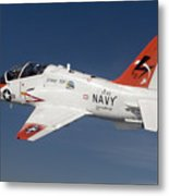 A T-45c Goshawk Training Aircraft Metal Print