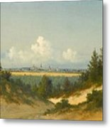 A View Of Tallinn From Nomme Metal Print