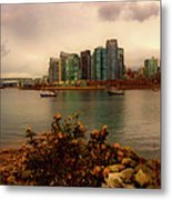 A View Of Vancouver Metal Print