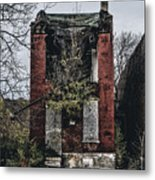 Abandoned House In Old North Saint Louis City Metal Print