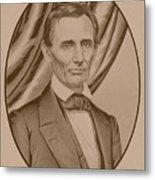 Abraham Lincoln Circa 1860  Metal Print