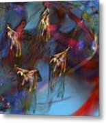 Abstract 102910 Metal Print