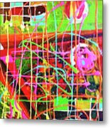 Abstract Colorful Metal Print