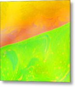 Abstract Colours Metal Print