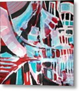 Abstract Marina Metal Print