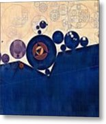 Abstract Painting - Champagne Metal Print