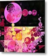 Abstract Painting - Mauvelous Metal Print
