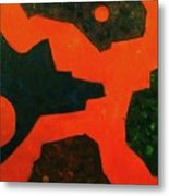 Abstract Structure Iv Metal Print
