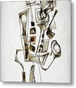 Abstraction 2844 Metal Print