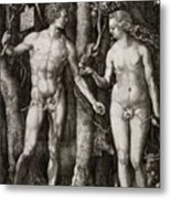 Adam And Eve 1504  Metal Print