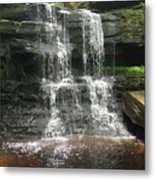 Aden Hill Waterfall Metal Print by Kevin Croitz