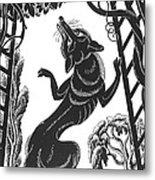 Aesop: Fox & Grapes Metal Print