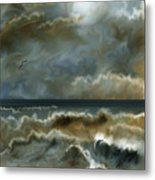 After The Squall Metal Print