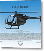 Ah-6j Little Bird Metal Print