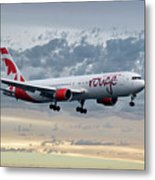 Air Canada Rouge Boeing 767-333 Metal Print