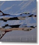 Aircrafts Metal Print