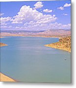 Albiquiu Reservoir, Route 84, New Mexico Metal Print