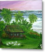 Aloha Morning Metal Print