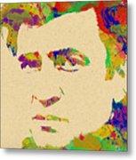 American Legend Johnny Cash Metal Print