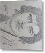 Amitabh Bacchan International  Actor  Metal Print